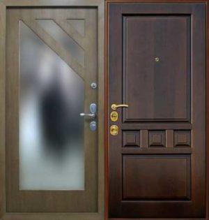 Входная металлическая дверь МДФ (ПВХ) СП067